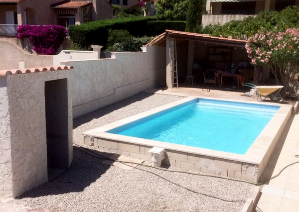 Gandolfi charles r novation ma tre artisan la valette for Construction piscine 38